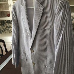 Men's Classic Seersucker Sportcoat